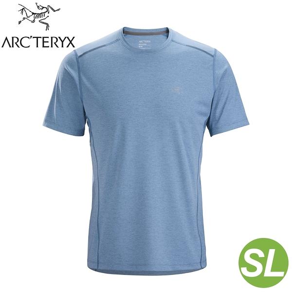 【ARC'TERYX 始祖鳥 男 Motus SL 快乾短袖圓領衫《混濁藍》】26837/短袖T恤/運動衫/透氣/吸濕排汗