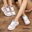 休閒鞋.柔和色塊綁帶休閒鞋【K1505】...