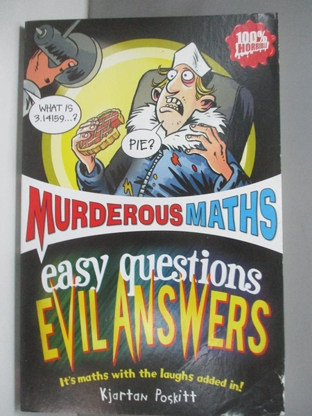 【書寶二手書T1/兒童文學_ASN】Easy Questions, Evil Answers_Kjartan Poskitt
