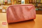 Hello Kitty 凱蒂貓 壓紋大容筆袋 收納袋 粉 970891