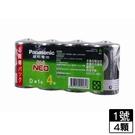 國際牌 碳鋅電池1號 4入/組【愛買】