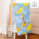 鴻宇 兒童涼被 快樂獅子 防蹣抗菌 美國棉授權品牌 台灣製1836(雙面A版)