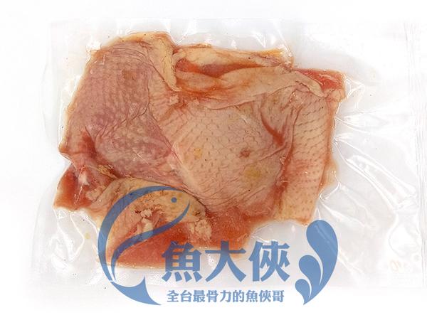 1A7A【魚大俠】BF033台式蒜味去骨雞腿排(230g/包)