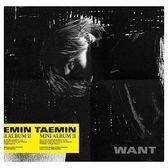 泰民 第二張迷你專輯 WANT 台壓版 Want版 CD 免運 (購潮8) 4719760202550