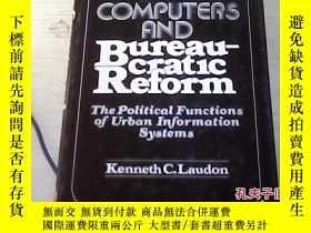 二手書博民逛書店COMPUTERS罕見AND Bureaucrat1c Reform.Y27345 COMPUTERS COM