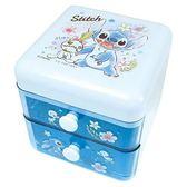 【震撼精品百貨】星際寶貝 史迪奇 STITCH 雙層小物收納盒08240