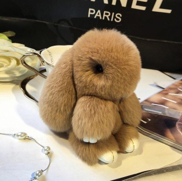 吊飾品  兔毛吊飾品 14cm 想購了超級小物