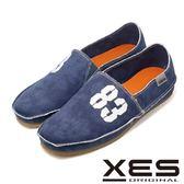 XES 經典帆布鞋進化版 83懶人鞋情侶款(男) 柔軟度up舒適上市_藍色