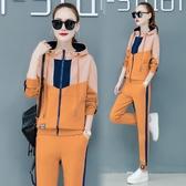 秋季衛衣套裝女寬鬆韓版學生運動服長袖休閒兩件套2019新款時尚潮