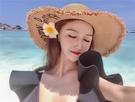 海邊太陽帽大檐草帽女旅游小清新度假遮陽帽子出游防曬沙灘帽 新年禮物