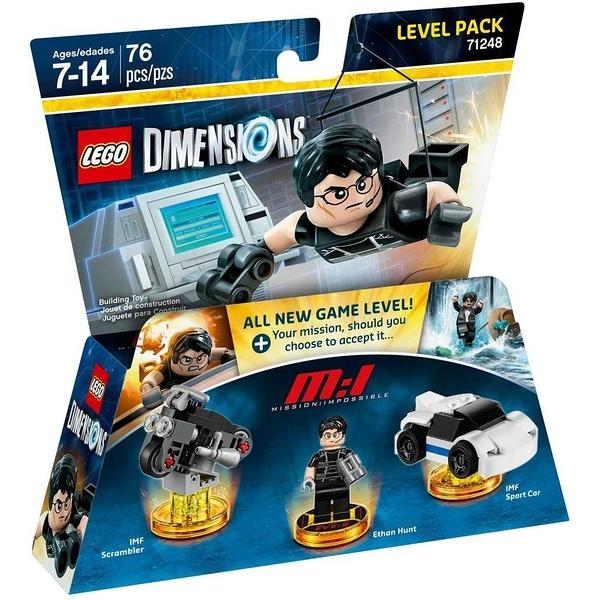 LEGO 樂高 Dimensions 次元系列 不可能任務 71248