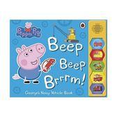 Beep, Beep, Brrrrm!佩佩豬塞車記-硬頁有聲書