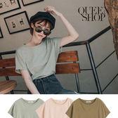 Queen Shop【01096217】車線設計連袖素面上衣 三色售*現+預*