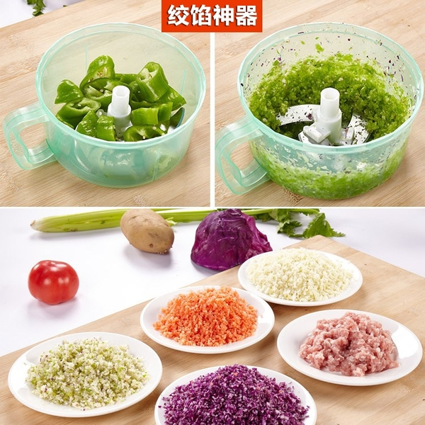 絞菜機 手動餃子餡機絞菜機碎菜絞肉機攪餡切菜器切蒜泥蒜蓉機