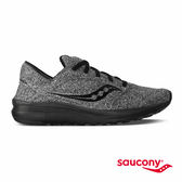 SAUCONY KINETA RELAY 運動生活鞋款-麻灰X黑