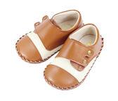 Swan天鵝童鞋-牛革孟克學步鞋1453-咖