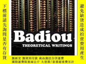 二手書博民逛書店Theoretical罕見Writings-理論著作Y436638 Alain Badiou Continuu