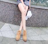 馬丁靴新款馬丁靴女英倫風ins馬丁鞋學生夏季chic短靴韓版百搭短筒 99免運