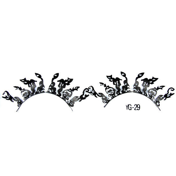 【舞台效果.表演造型】特殊剪紙睫毛  一對入 YG-29 [26167]◇美容美髮美甲新秘專業材料◇