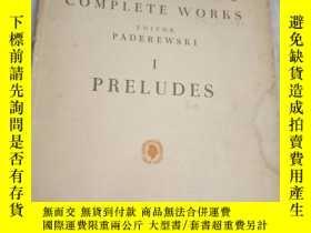 二手書博民逛書店chopin罕見complete works editor pa