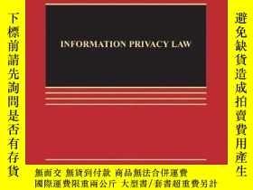 二手書博民逛書店Information罕見Privacy Law, Fourth EditionY256260 Daniel