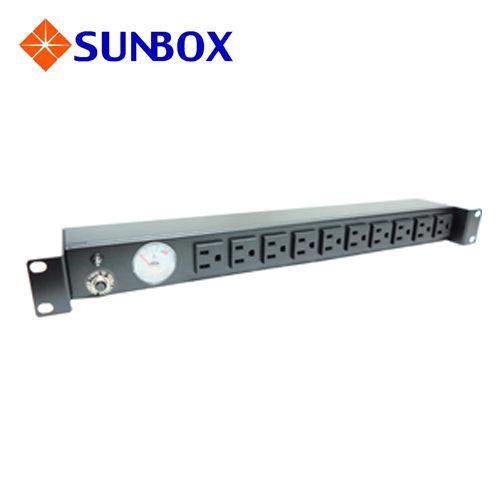 SUNBOX 慧光展業 指針型 電錶 電源排插 SPMA-2012-10 SUNBOX