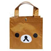 拉拉熊懶懶熊便當袋手提袋 500074【77小物】