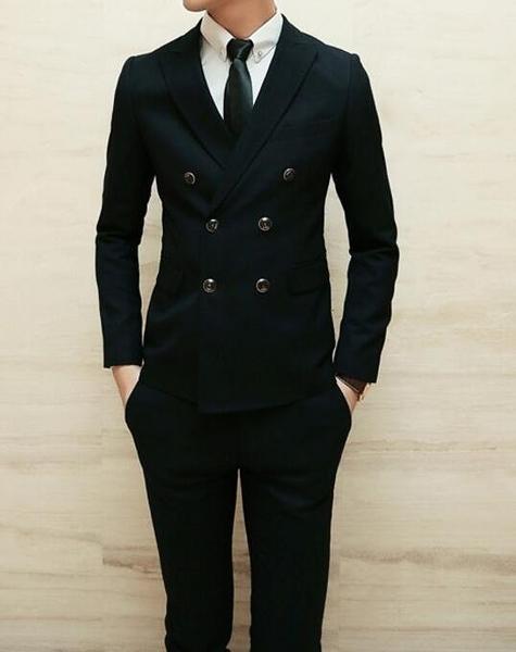 FINDSENSE品牌 韓國男 舒適 帥氣純色 小西裝 修身西裝 西裝外套 單件