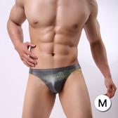 性感男內褲 情趣用品-絕色魅力仿皮丁字褲(深灰)-M-玩伴網【歡慶雙11加碼超贈點】