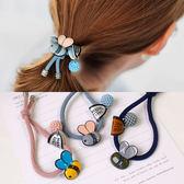 蜜蜂 髮圈 彈性繩 髮飾 髮帶 球球 可愛 彩色 韓國 NXS