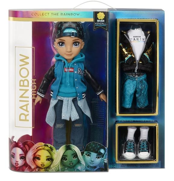 《 Rainbow Surprise 》七彩時尚娃娃-River Kendall / JOYBUS玩具百貨