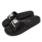 New Balance 拖鞋 1101 黑 白 男女鞋 基本款 NB 涼拖鞋 紐巴倫 【ACS】 SD1101HBBM