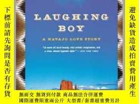 二手書博民逛書店Laughing罕見Boy : A Navajo Love Story開心的男孩:納瓦霍愛情故事,普利策獎得主奧利