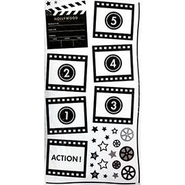 【收藏天地】創意生活*相框式裝飾壁貼-好萊塢電影膠捲