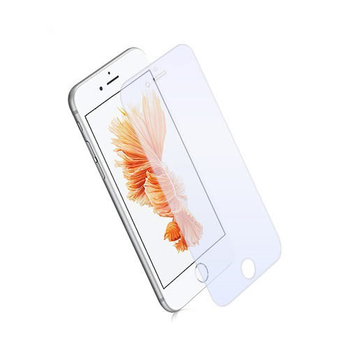 【Metal-Slim】iPhone7 plus 9H強效抗藍光鋼化玻璃貼