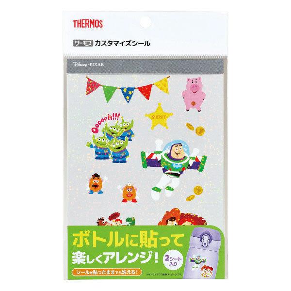 THERMOS 迪士尼玩具總動員保溫瓶裝飾貼紙 10g(2張入)