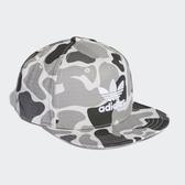 X-adidas ORIGINALS SNAPBACK CAMO CAP 三葉草 復古帽 迷彩 DH1022