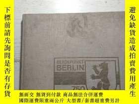 二手書博民逛書店750罕見jahre blickpunkt Berlin bilder einer stadt aus der m