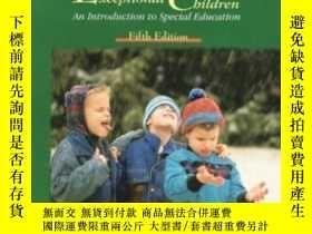 二手書博民逛書店Study罕見Guide To Accompany Exceptional Children: An Introd
