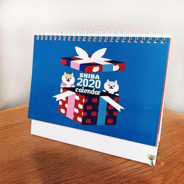 桌曆 柴犬原創設計shiba台曆 2020  calendar台曆桌曆月曆