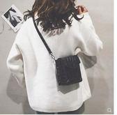 上新小包包女新款潮韓版手機包女鱷魚紋小方包 【爆款特賣】