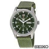 SEIKO精工  野戰風格夜光自動上鍊5號機械錶 SNZG09K1