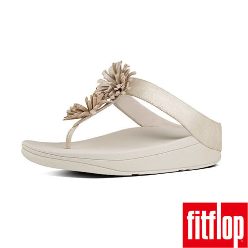 【FitFlop】SKYROCKET SUEDE TOE-THONG(淡金色)
