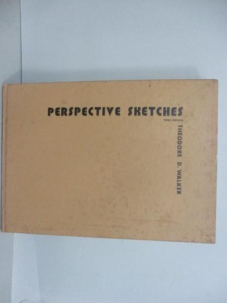 【書寶二手書T1/建築_QEP】Walker-Perspective Shetches
