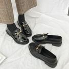 樂福鞋一腳蹬黑色小皮鞋女2020年新款平底春秋單鞋英倫風韓版百搭 【端午節特惠】