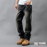 BIG TRAIN BT街頭垮褲-男-黑灰