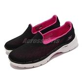 Skechers 健走鞋 Go Walk 6 Cosmic Force 女鞋 黑 粉 記憶鞋墊 休閒鞋 【ACS】 124522-BKHP
