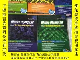 二手書博民逛書店Maths罕見Olympiad Unleash The Math