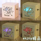 交換禮物 十二星座音樂盒木質