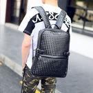 【5折超值價】時尚編織設計款潮流休閒後背包